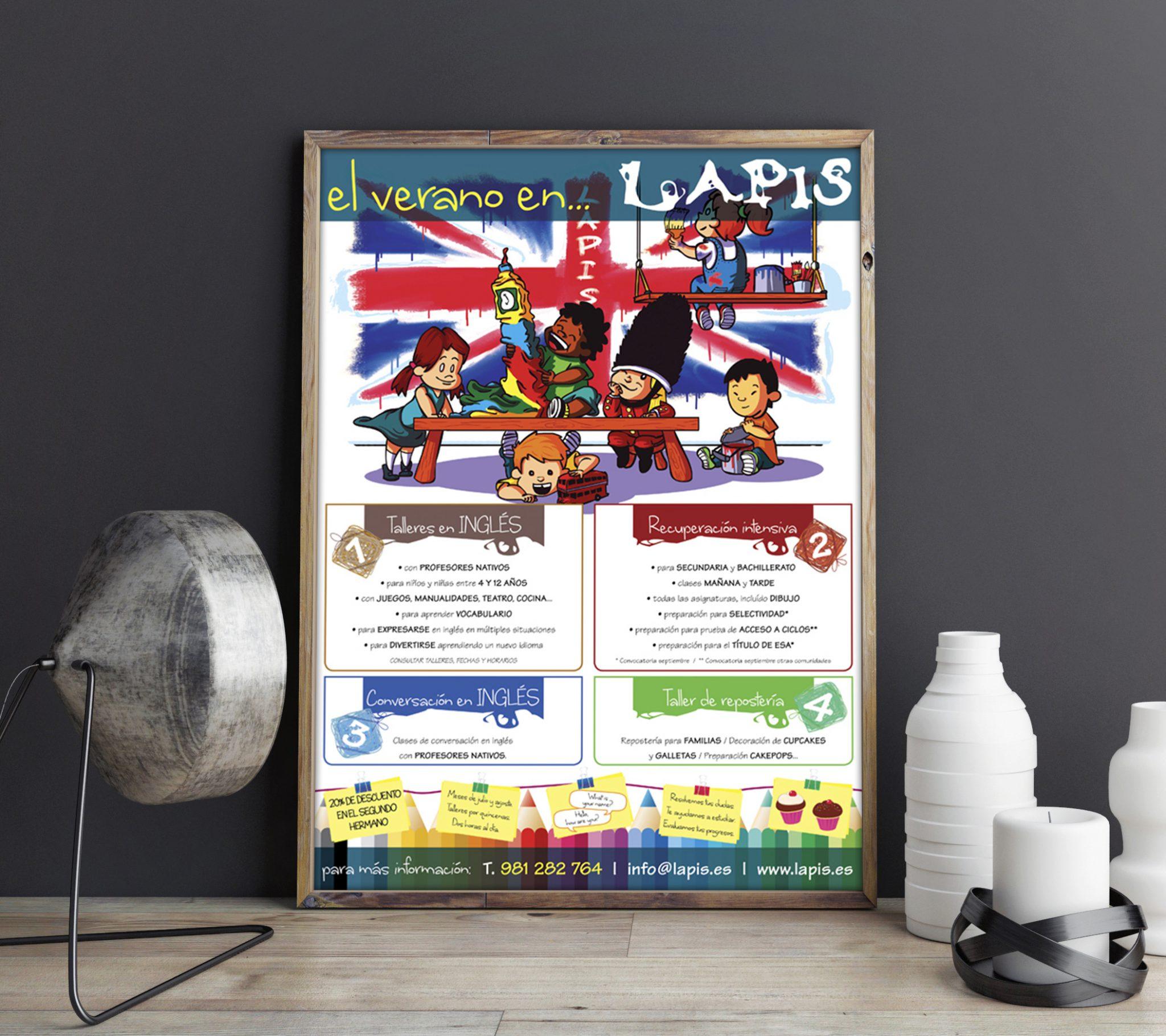 LAPIS_CARTEL_VERANO-diseño-gráfico-diseñador-diseño-publicitario-publicidad-xaniño-coruña-cartelería
