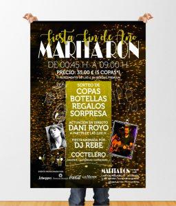 MARITARON_CARTEL_FINdeANO-diseño-gráfico-diseñador-diseño-publicitario-publicidad-xaniño-coruña-cartelería