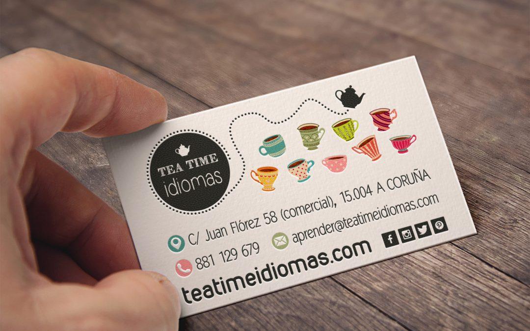 Tea Time | Tarjetas Corporativas