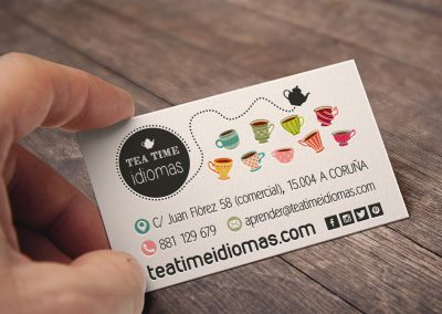 Tea Time | Tarjetas Corporativas
