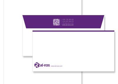 Ad Ecos | Identidad Corporativa y Papelería