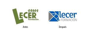 antes-despues-identidad-corporativa-logo-restyling-lecer-formación-diseño-gráfico-logotipo-identificador-xaniño-coruña-1