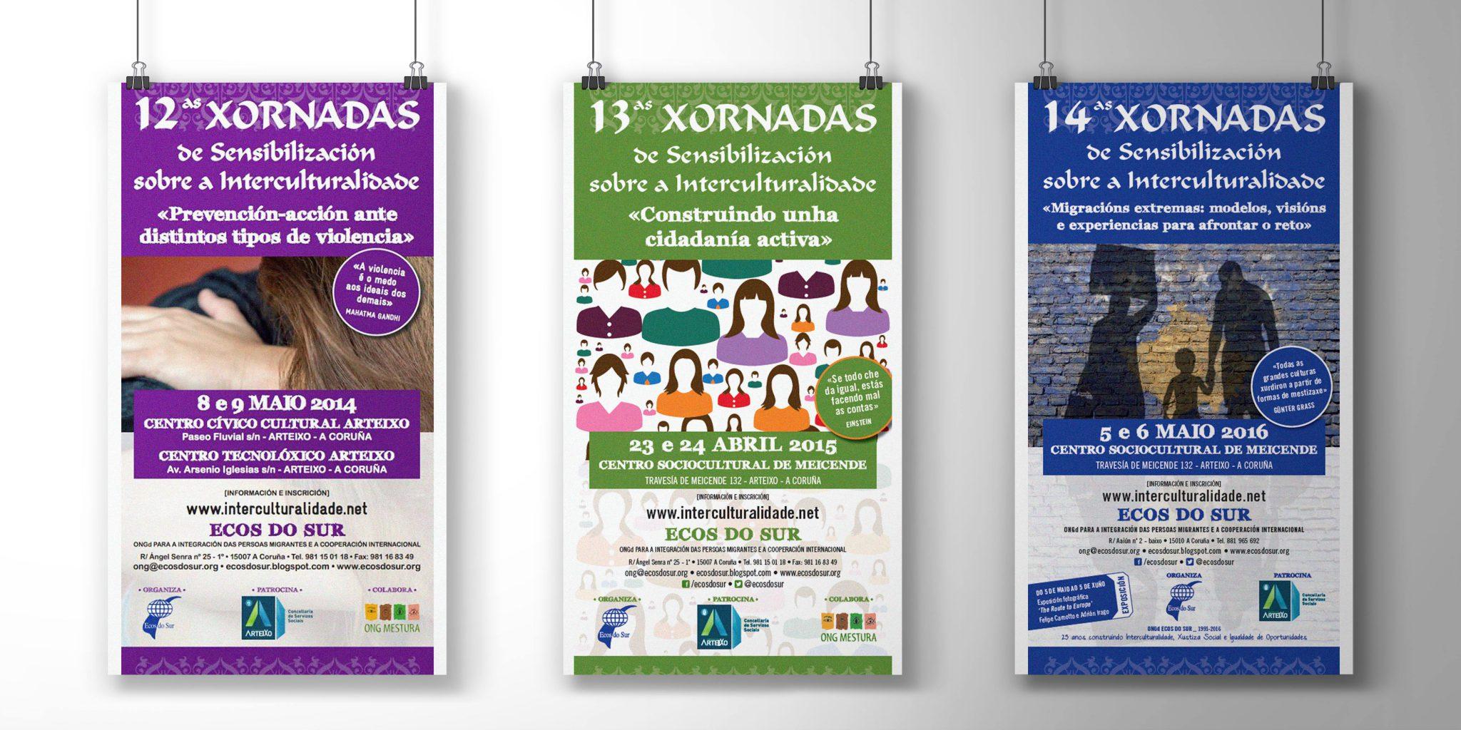 ecos-do-sur-interculturalidade-diseño-gráfico-diseñador-diseño-publicitario-publicidad-xaniño-coruña-cartelería
