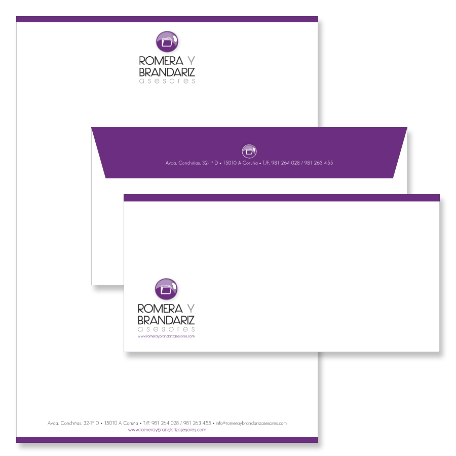 romera-y-brandariz-papeleria-papeleria.-empresarial-imagen-corporativa-diseño-gráfico-logotipo-xaniño-coruña-hojas-de-carta-sobres