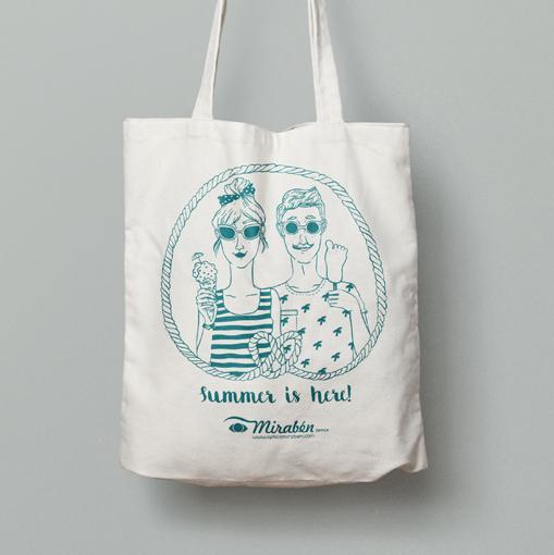 Óptica Mirabén | Ilustración para Merchandising