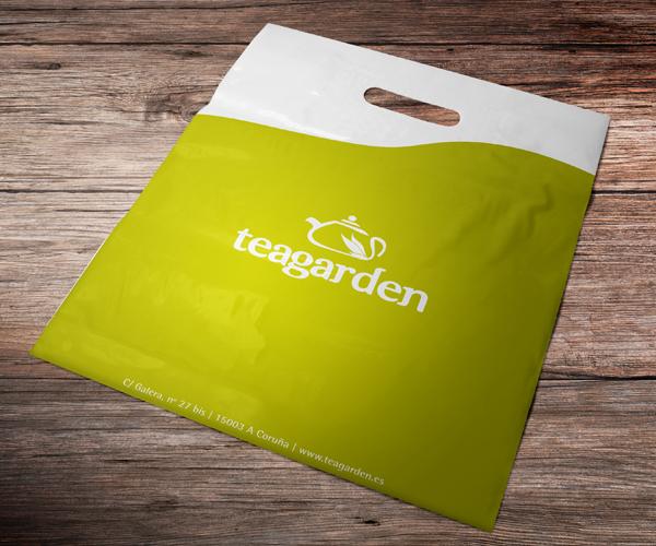 teagarden-marcación-bolsas-serigrafía-diseño-grafico-etiquetas-logotipo-identificador-imagen-corporativa-publicidad-comercia-carteleria-coruña-xaniño