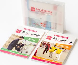 xunta-galicia-no-violencia-deporte-vida-proyecto-integral-diseño-gráfico-maquetación-merchandising-empresarial-xaniño-coruña