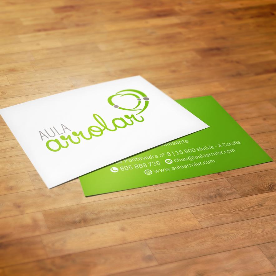 arrolar-tarjeta-flyer-diseno-grafico-identificador-publicidad-dipticos-coruna-xanino