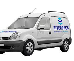 identidad-corporativa-logo-identificador-riverpack-diseño-gráfico-logotipo-identificador-xaniño-coruña-vehiculo-corporativo