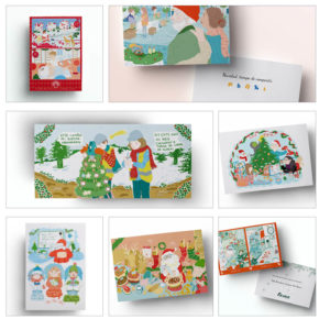 navidad-postales-ilustraciones