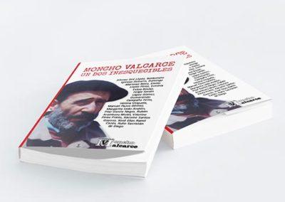 Libro Moncho Valcarce, Un dos inesquecibles | Diseño y Maquetación