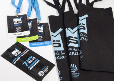 Congreso de Gestión Sanitaria | Diseño de imagen, material y merchandising