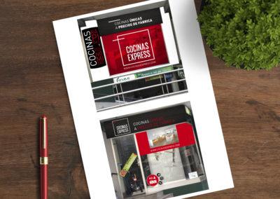 Cocinas Express |Diseño y Rotulación