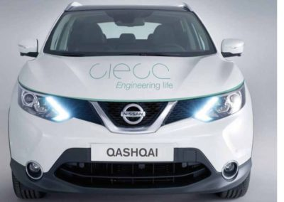 CIECA | Rotulación de Nissan Qashqai
