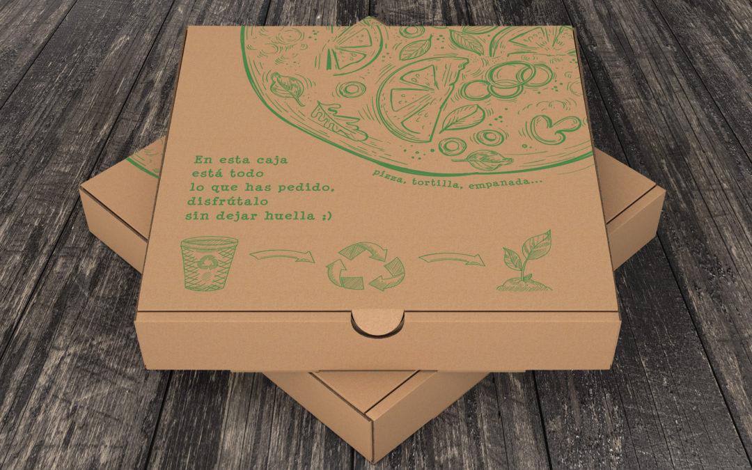 Disgalen | Packaging cajas multiusos de comida para llevar